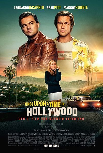 Once Upon a Time in… Hollywood (162 Min – FSK: ab 16J.)